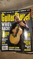 Guitar Player magazine SEPTEMBER 2000 OASIS  PETE TOWNSHEND free usa ship
