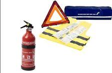 Erste Hilfe Set! Feuerlöscher Verbandstasche Warndreieck Warnweste,First Aid Kit