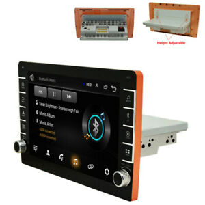 1Din 9'' Car Stereo Radio Mp5 Android 9.1 Player Bluetooth FM GPS Touch Screen