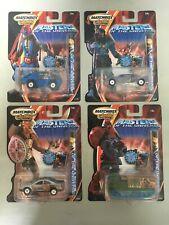 MATCHBOX MASTERS OF THE UNIVERSE SET OF 4 CARS MOTU 200x He-Man