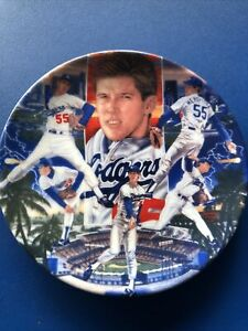 Orel Hershiser Sports Impressions Regular Edition Collector Plate