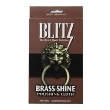 Blitz Brass Shine Polishing & Cleaning Cloth