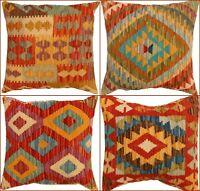 Vintage Kilim Handmade cushions Turkish look Genuine , Matching Cushion Covers