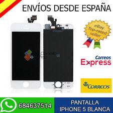 Pantalla LCD + Táctil iPhone 5 Pantalla Completa Blanca Frontal Completo