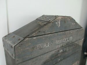 Rolls-Royce wooden shipping create for 1946 -1959 Silver Wraith grill