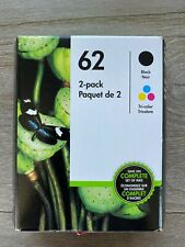 HP 62 Ink Cartridge - Black and Tri-Color Cartridges Included