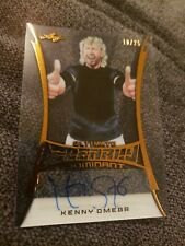 2020 Leaf Ultimate Wrestling KENNY OMEGA Clearly Dominant Autograph Auto 10/25