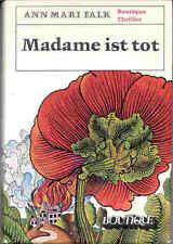 Falk, Ann Mari – Madame ist tot BOUTIQUE THRILLER - 1969