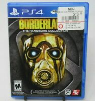 BORDERLANDS: THE HANDSOME COLLECTION GAME FOR PLAYSTATION 4 PS4, GAME DISC, CASE