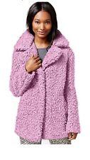 Celebrity Pink Ballet Pink Faux Fur Jacket Size L