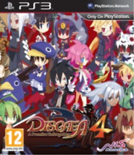 PS3-Disgaea 4: A Promise Unforgotten /PS3  (UK IMPORT)  GAME NEW