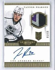 2013-14 PANINI DOMINION RC GOLD PARALLEL PATCH AUTO TANNER PEARSON 03/50 KINGS