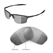 New Walleva Polarized Transition/Photochromic Lenses For Oakley Half Wire 2.0