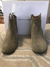 Isabel Marant Taupe Dicker Boots
