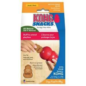 Kong Snacks Dog Treats (Cheese & Bacon) Small, Large