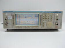 IFR Marconi 2051 Digital & Vector Signal Generator 10kHz-2.7GHz Options 01,08