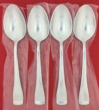 "NEW Set 4 Oneida SURGE Glossy Stainless Flatware Dessert Spoon TEASPOONS (6.25"")"