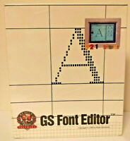 Vintage BEAGLE BROS GS Font Editor IIGS System 1989 By Mark Simonsen *NEW SEALED