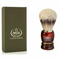 OMEGA SILVERTIP BADGER SHAVING BRUSH 636