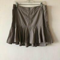 Armani Exchange A/X Exchange A Line Ruffled Cotton Skirt Women's Size 10