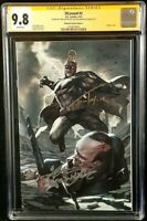 DCEASED #3 CGC SS 9.8 INHYUK LEE VIRGIN VARIANT ZOMBIE BATMAN JOKER ALFRED DEATH