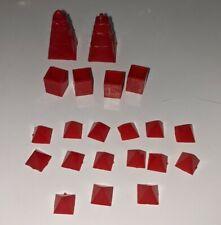 Vintage 1965 Waddingtons Mine A Million Business Game - Red spare parts