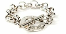 Marc By Marc Jacobs Women's Metallic Toggle Bracelet SILVER M3PE588-80083