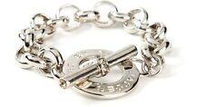 Marc By Marc Jacobs Women's Metallic Toggle Bracelet SILVER M3PE588-80083