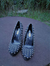 Rue 21 Spiked Gothic Women's Heels  Nice Condition  Size 8/9