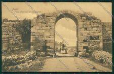 Salerno Pesto Paestum Porta d'Entrata ai Monumenti cartolina ZC2273