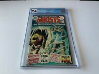 GHOSTS 37 CGC 9.6 WHITE PAGES HAUNTING OF WHITE HOUSE DC COMICS 1975