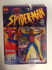 Spider-Man Animated Series Web Racer action figure sealed MOC Toy Biz 1994