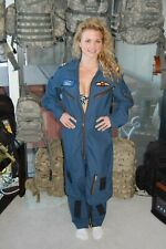 ROYAL CANADIAN AIR FORCE HELICOPTER CREW MANS FLIGHT SUIT