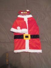 Dog Christmas Santa Costume Size Large