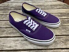 Vans AUTHENTIC Violet Purple Women's Sneakers Size 8.5