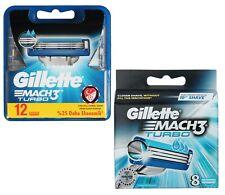 20x Gillette Mach3 Turbo RasierKlingen / 12er + 8er OVP Gilette Gillete Gilete
