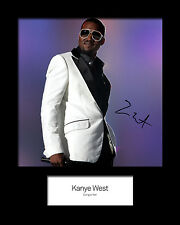KAYNE WEST #2 Signed Photo Print 10x8 Mounted Photo Print - FREE DELIVERY