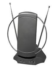 Banda ancha de DVB-T Digital Interior Tv Y Antena De Radio Antena Con Amplificador (t143h)