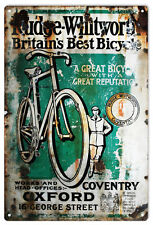 Rudge-Whitworth Coventry Bicycle British Advertisement Sign