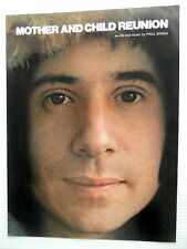 Paul Simon Sheet Music Mother & Child Reunion Charing Cross Music 70's Pop rock
