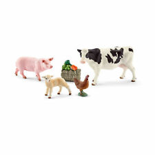 New Schleich Farm Life Cow Pig Hen Lamb Farm Playset Schleich 41424 Age 3-8yrs