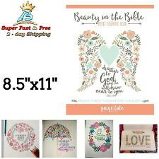 Beauty Scripture Quotes Bible Adult Coloring Book Christian Stress Relief Art