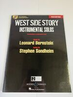 WEST SIDE STORY INSTRUMENTAL SOLOS Sheet Music Book & CD Of Piano Accompaniments