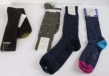 Lot of 4 Alfani Mens Socks Perry Ellis Gold Toe Northport Dress Casual Luxury