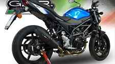 SUZUKI SV650 Exhaust Furore Nero by GPR Exhausts Made in Italy for 2016-2018