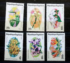 1975 Serie Completo francobolli TOGO FIORI NUOVO MNH 88M906