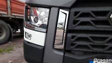 Para adaptarse a Renault T Gama Cromo Rejilla Lateral Envolvente Trim Set Truck Accessories
