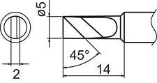 ORIGINAL PANNE DE FER A SOUDER HAKKO - T18-K - NEUVE  - FX888D - FX8801