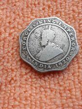 1920 4 Annas India Coin