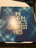 The Year In Music Greatest Hits  The Realistics Exc Cond 1979 Vinyl Lp